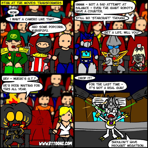 BTGN at the Movies: Transformers