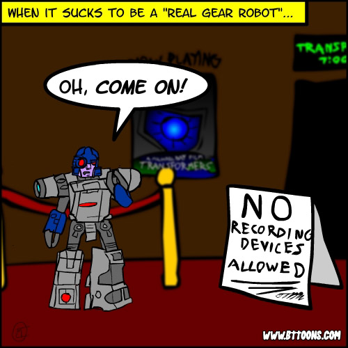 More Transformers Hijinks