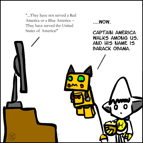 Bonus Strip – Democratic Convention, Day 4