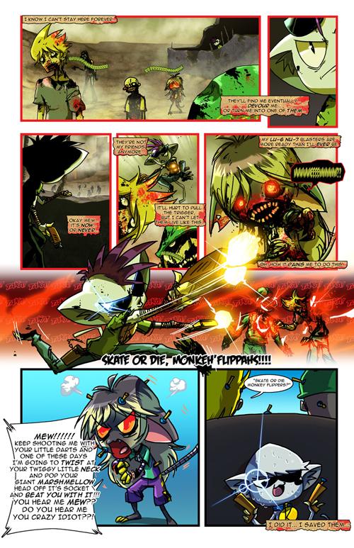 Guest Comic: ZAWMBEEZ (by Josh Perez)